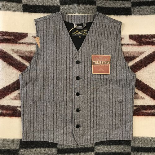 Pike Brothers 1937 Roamer Vest Swedish Stripes Grey