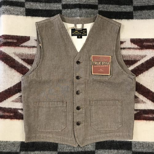Pike Brothers 1937 Roamer Vest HBT Brown