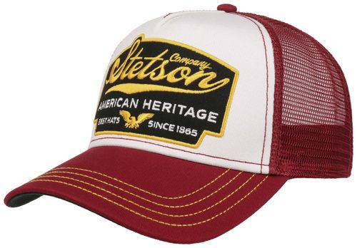 Stetson Trucker Cap American Heritage Red