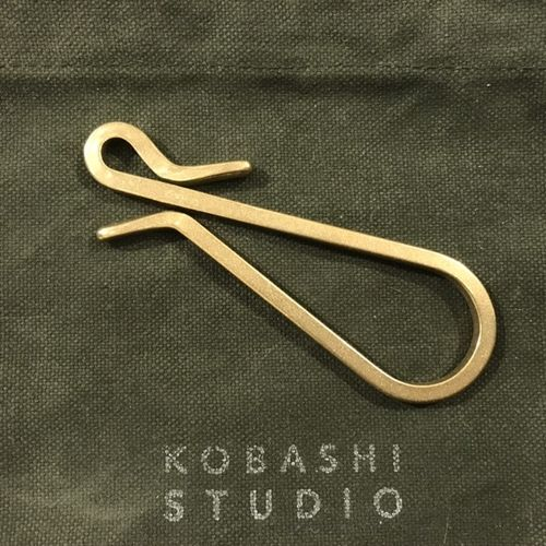 Kobashi Studio Square Wire Rolled Key Hook