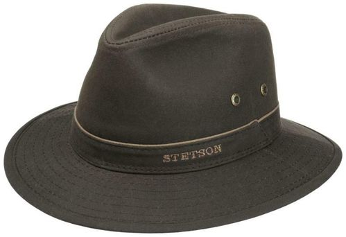 Stetson  Traveller Waxed Cotton 6
