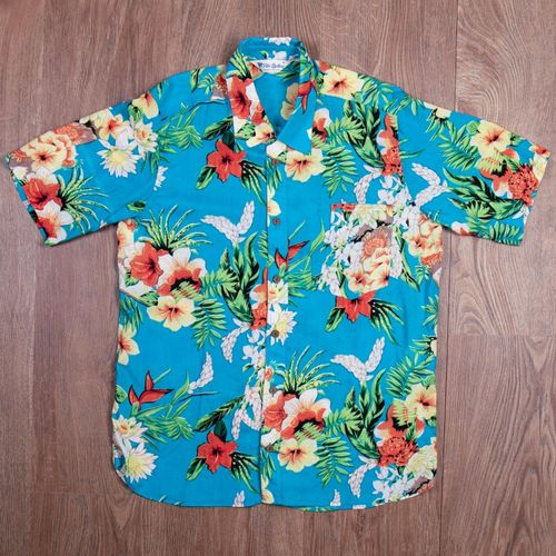 Pike Brothers 1937 Roamer Shirt Hapuna Blue