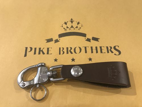 Pike Brothers 1965 Key Hanger Brown