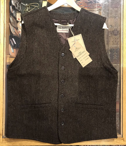 Pike Brothers 1905 Hauler Vest Upland Brown