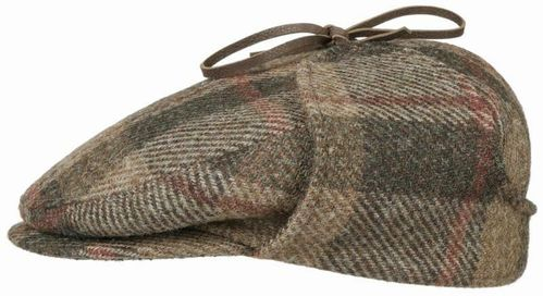 Stetson Driver Cap Harris Tweed Check