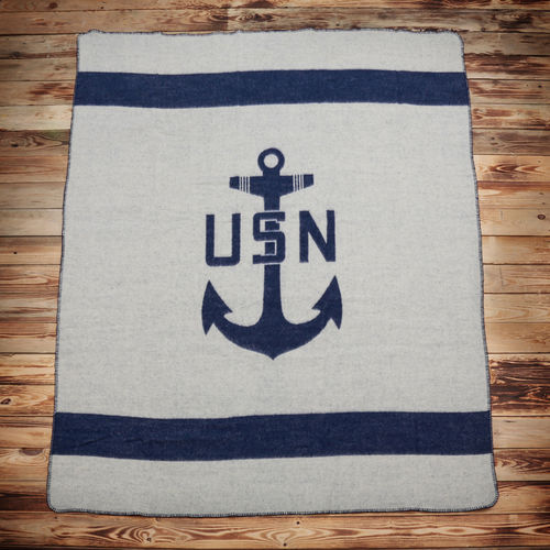 Pike Brothers 1969 USN Blanket Navy